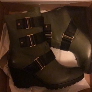 Sorel After Hours Bootie -Nori size 7